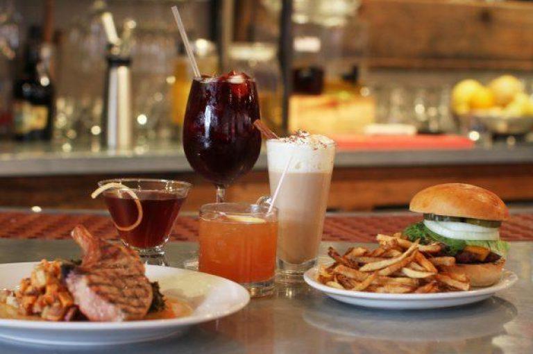 24805 drinks and food on bar 600x400 1